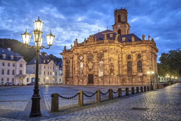 Deutschland Saarland Saarbrücken Kirche