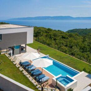 Luxusvilla in Kroatien: 8 Tage in Istrien mit Infinity-Pool, Whirlpool & Meerblick ab 254€ p.P.