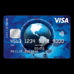 ICS Visa World Card: Kostenlos bezahlen & abheben in der Eurozone