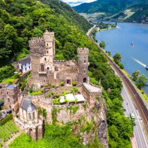 Wochenendtrip zur Burg Rheinstein: 2 Tage im TOP 3* Hotel nur 37€