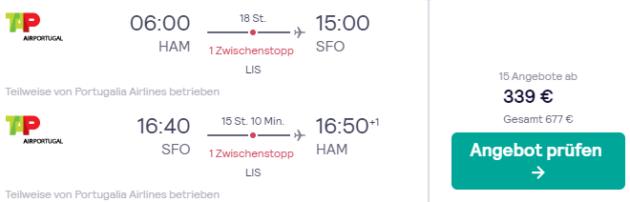 Flug ab Hamburg