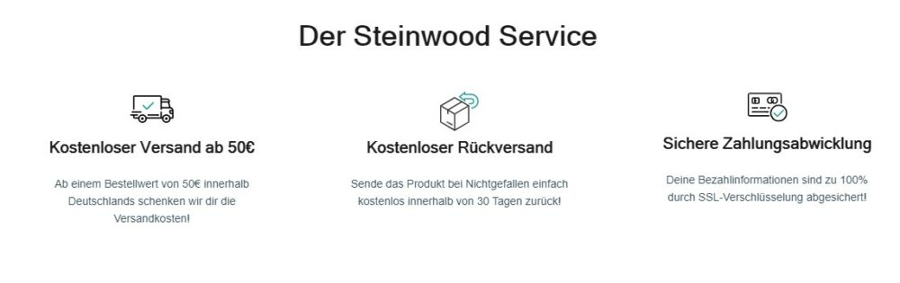Steinwood Service