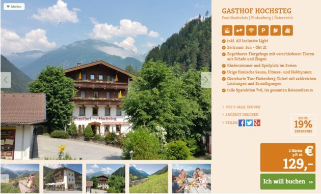 2 Tage Zillertal