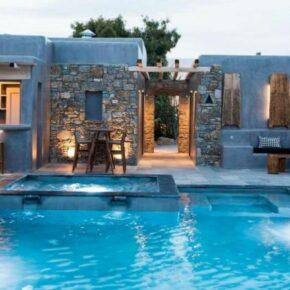 Luxus pur: 7 Tage Mykonos  im TOP 4* Hotel mit Frühstück, Flug, Transfer & Zug nur 1141€