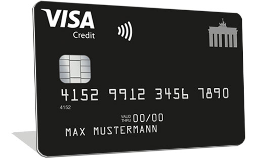 Deutschland Kreditkarte Visa Classic