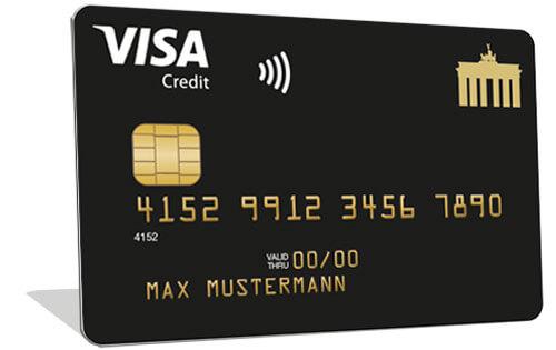 Deutschland Kreditkarte Visa Gold