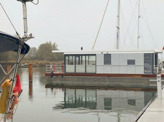 Deutschland Usedom Well Hausboot