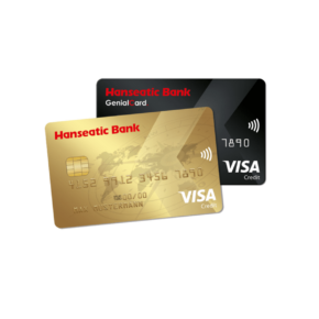 Hanseatic Bank Kreditkarte: GenialCard & GoldCard im Überblick