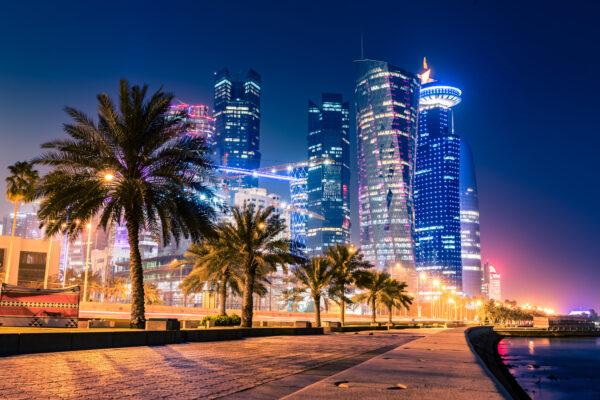 Katar Doha Wolkenkratzer