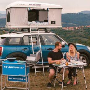 Mini Countryman mit Dachzelt: 4 Tage Camping-Abenteuer in Deutschland nur 18€