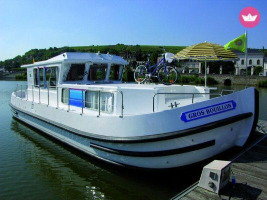 Motorboot Penichette 1120 GR Hafen