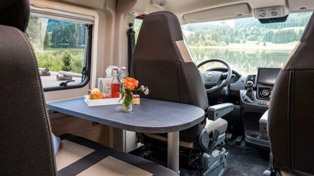 Pössl Campervan Sitzbereich
