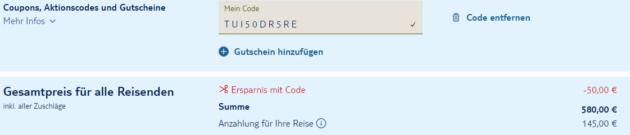 7 Tage Rhodos Code