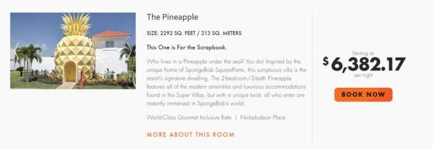 7 Tage Spongebob Villa