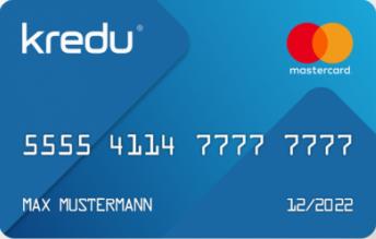 kredu Virtuelle Kreditkarte
