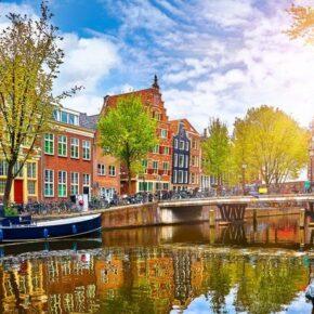 Amsterdam : 3 Tage im zentralen TOP 3* Boutiquehotel mit Frühstück nur 89€