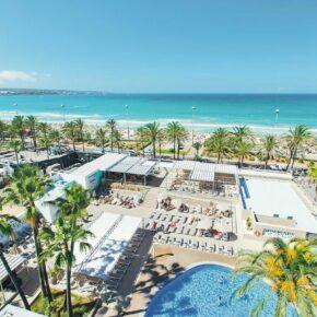 Balearen: 7 Tage Mallorca im 4.5* Hotel mit Halbpension, Flug, Transfer & Zug nur 343€