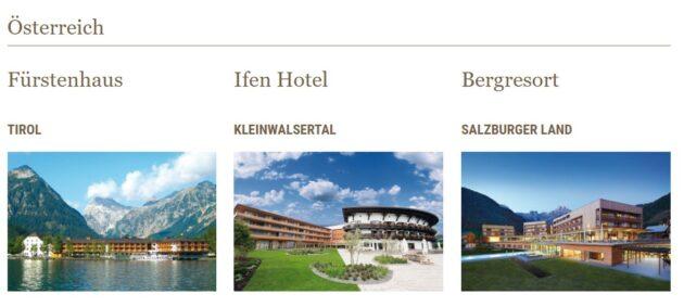 Travel Charme Hotels Österreich