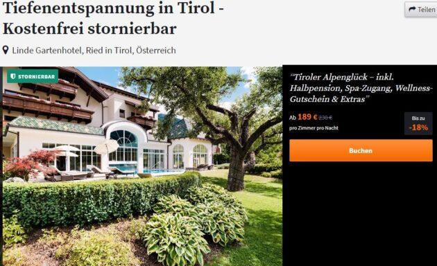 Tirol 3 Tage