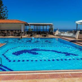 Griechenland: 6 Tage Kreta im guten 4* Hotel mit Halbpension & Flug nur 264€