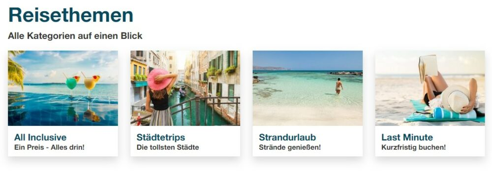 Reisethemen Eurowings Holidays