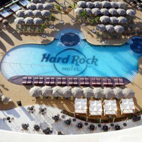 Luxus auf Teneriffa: 7 Tage im TOP 5* Hard Rock Hotel inkl. Frühstück, Flug, Transfer & Zug für 663€