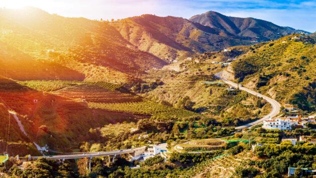 Spanien Andalusien Landschaft Berge