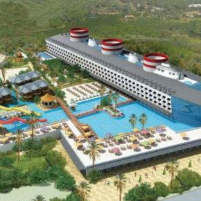 Urlaub im Kreuzfahrtschiff-Hotel: 7 Tage Türkei im TOP 5* Hotel mit All Inclusive, Flug & Transfer nur 431€