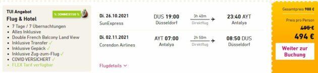 7 Tage Türkei