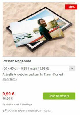 Poster Angebot