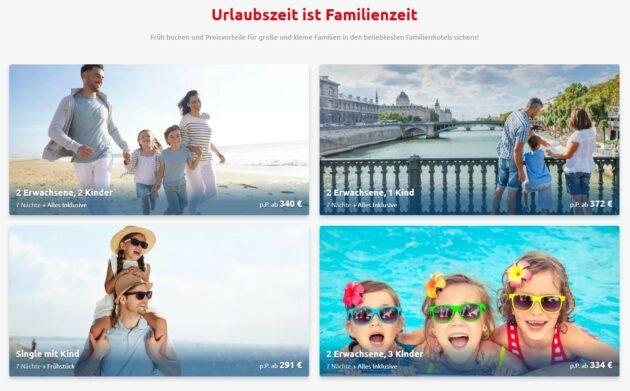 alltours Familienurlaub