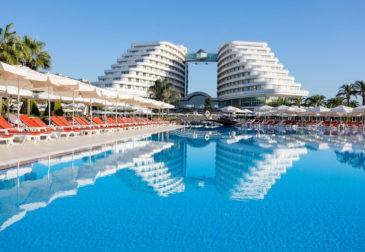 Luxus: 7 Tage Türkei im 5* Strandhotel mit All Inclusive, Flug & Transfer nur 361€