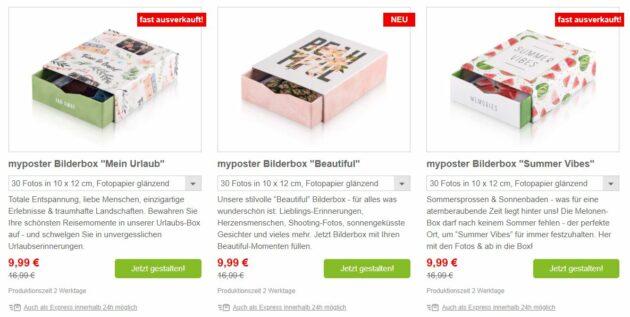 myposter Bilderboxen