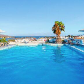 Kreta Kracher: 6 Tage im TOP 4* Hotel mit Halbpension & Flug nur 270€