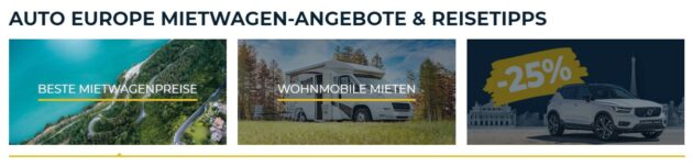 Autoeurope Angebote