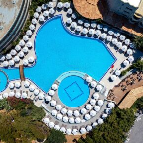 Hotel Kalithea Mare Palace Pool Rhodos