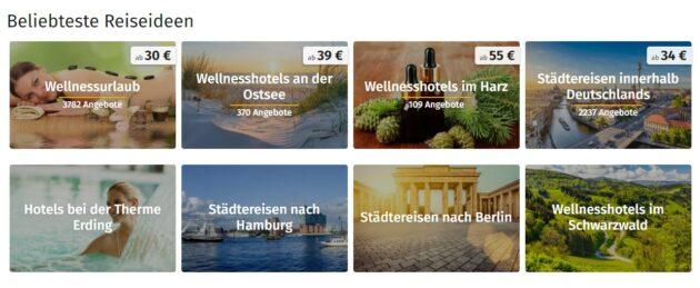 kurz-mal-weg.de Reisekategorien