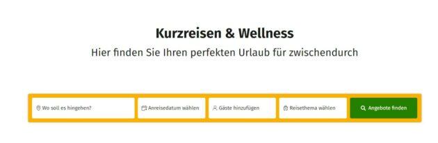 Suchmaske kurz-mal-weg.de