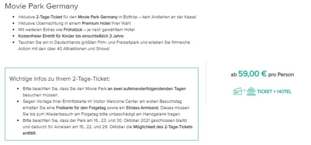 Screenshot 2 Tage Movie Park