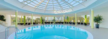 Wellness in Bayern: 3 Tage übers WE im 4* Hotel mit Halbpension & Extras nur 184€