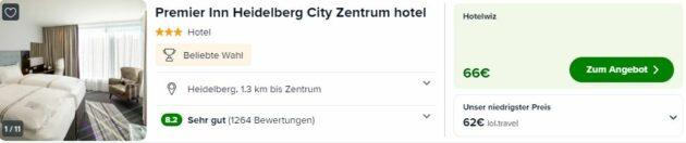 Screenshot Hotel Heidelberg