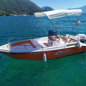 Auf dem Gardasee chillen: Eigenes Motorboot Eurer Wahl ab 31€