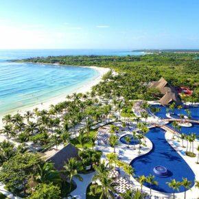 Ab ins Paradies: 9 Tage Mexiko im TOP 5* Strand-Resort mit AI, Flug & Transfer nur 930€