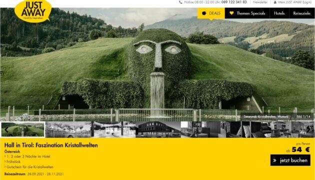 Screenshot 2 Tage Österreich