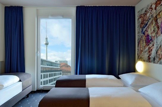 B&B Hotelzimmer