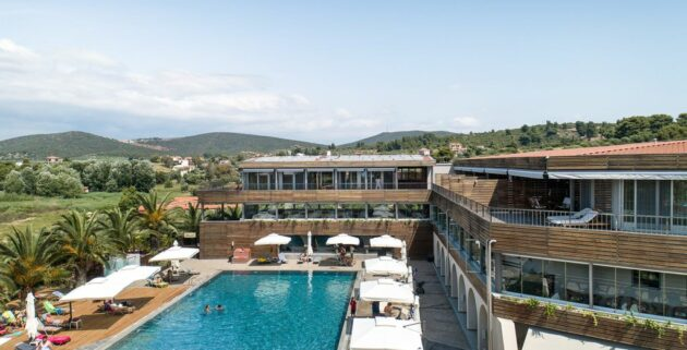Blue Dolphin Resort Aussen Griechenland