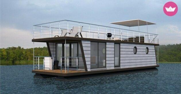 Marinas Hausboot D13