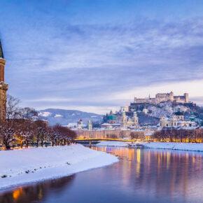 Christkindlmarkt Salzburg: 2 Tage übers Wochenende im guten 4* Hotel nur 60€